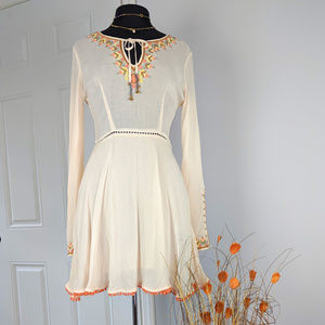 Ecote Urban Outfitters Bohemian Dress Sz 4